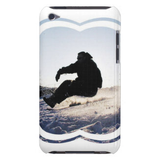Snowboarding Pictures iTouch Case