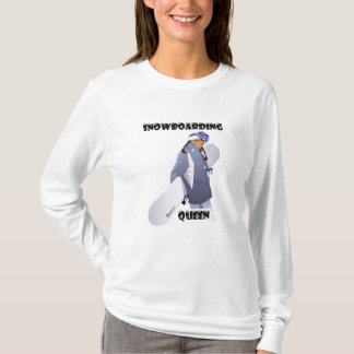 Snowboarding Queen T-Shirt