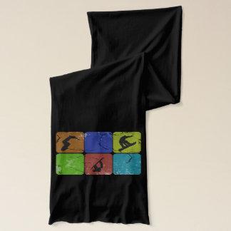 Snowboarding scarf