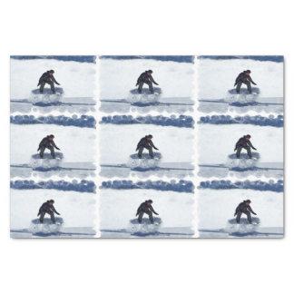 Snowboarding Tissue Paper