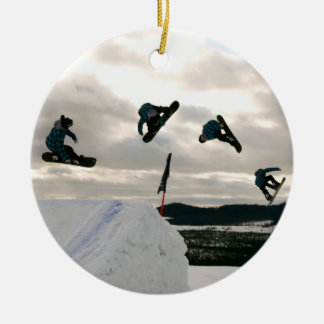 Snowboarding Tricks Ornaments