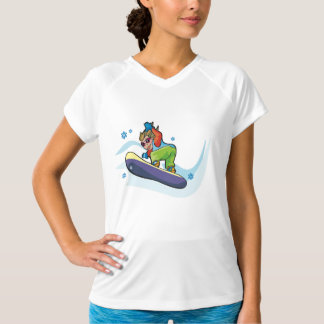 Snowboarding Womens Active Tee