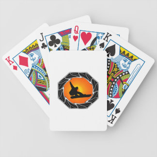 Snowboards Are Us Bicycle Playing Cards