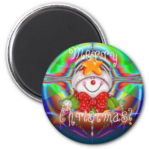 Snowboy Christmas Wish Magnet Templet - Customized