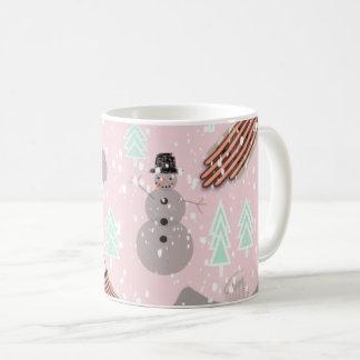 Snowday Snowman Coffee Mug