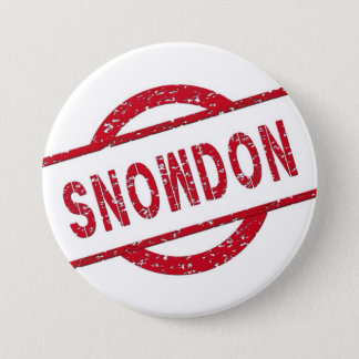Snowden Supporter 7.5 Cm Round Badge