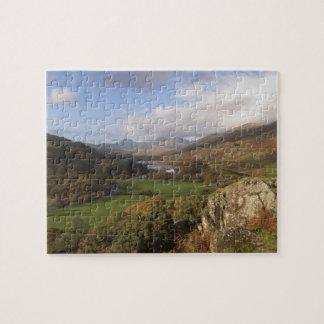 Snowdon from Capel Curig, Gwynedd, Wales (RF) Jigsaw Puzzle