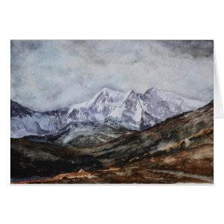 Snowdon Horseshoe in Winter.JPG Card