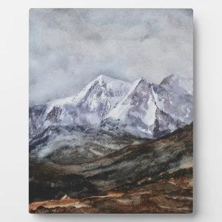 Snowdon Horseshoe in Winter.JPG Plaque