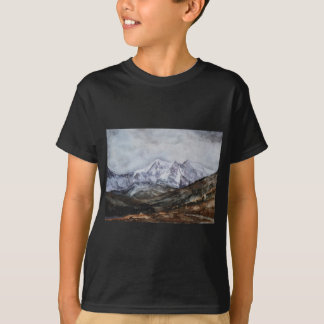 Snowdon Horseshoe in Winter.JPG T-Shirt