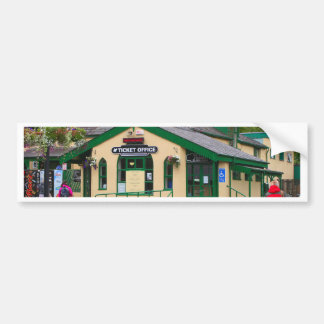 Snowdon Mountain Railway Station, Llanberis, Wales Bumper Sticker
