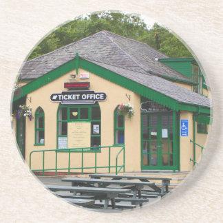 Snowdon Mountain Railway Station, Llanberis, Wales Coaster