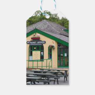 Snowdon Mountain Railway Station, Llanberis, Wales Gift Tags