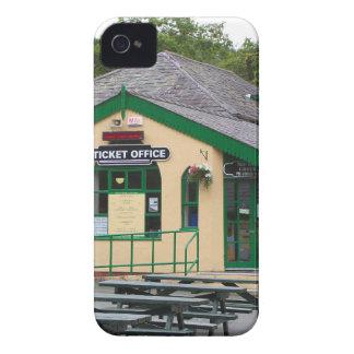 Snowdon Mountain Railway Station, Llanberis, Wales iPhone 4 Case-Mate Case