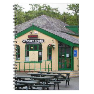 Snowdon Mountain Railway Station, Llanberis, Wales Notebook