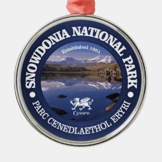 Snowdonia NP Metal Ornament