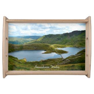 Snowdonia Wales. Serving Tray