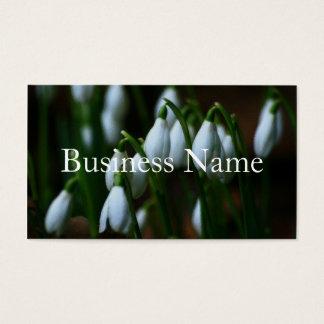 Snowdrop Business Card