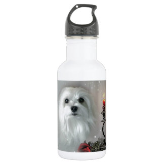 Snowdrop the Maltese 532 Ml Water Bottle
