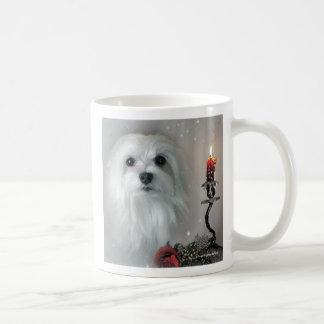 Snowdrop the Maltese Coffee Mug