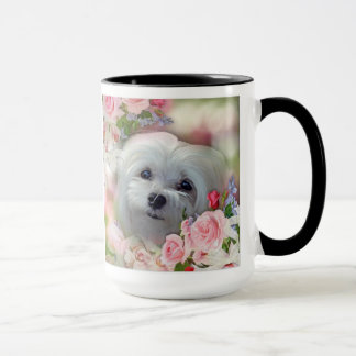 Snowdrop the Maltese Mug