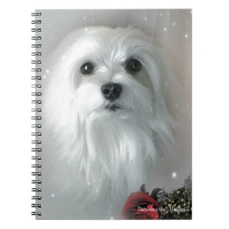 Snowdrop the Maltese Notebook