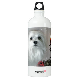 Snowdrop the Maltese SIGG Traveller 1.0L Water Bottle