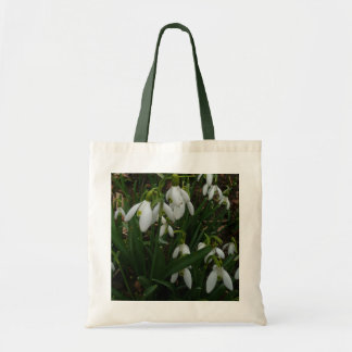 Snowdrops I (Galanthus) White Spring Flowers Tote Bag