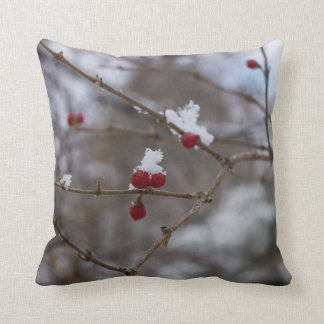 Snowed Berries Cushion