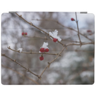 Snowed Berries iPad Cover