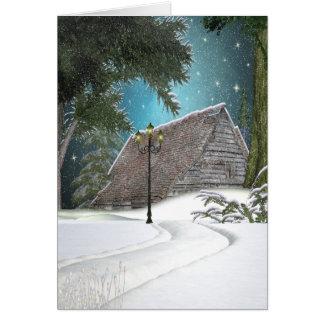 Snowed In Card