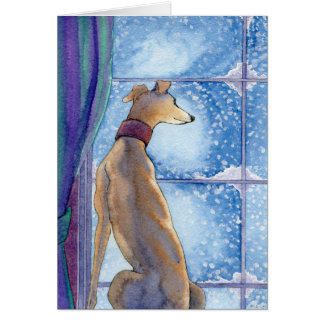 Snowfall - Holidays Card