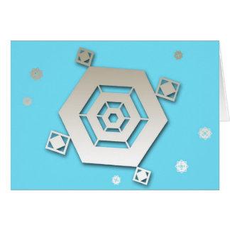 Snowflake 1 Happy Holidays Greeting Card