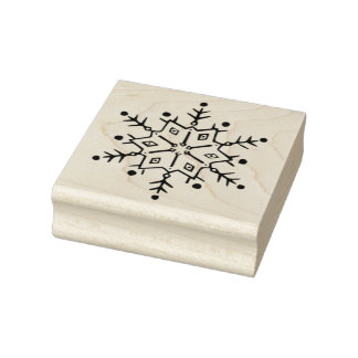 Snowflake 2 art stamp