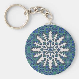 Snowflake #2 keychain