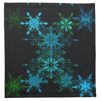 Snowflake 3 napkin