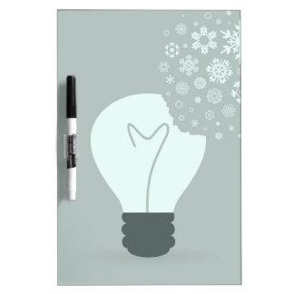 Snowflake a bulb2 dry erase board
