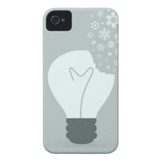 Snowflake a bulb2 iPhone 4 Case-Mate case