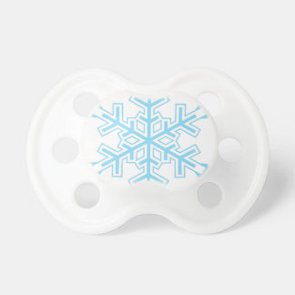 Snowflake Baby Pacifiers