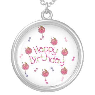 Snowflake Ballerina Birthday Necklace