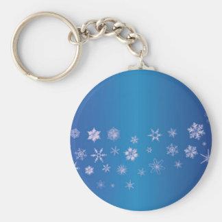 Snowflake Banner Key Ring