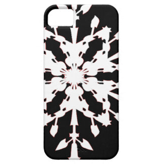 Snowflake Barely There iPhone 5 Case