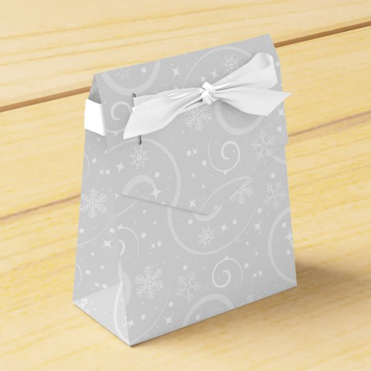 Snowflake Bliss Favour Boxes
