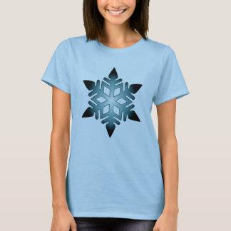 Snowflake (blue) T-Shirt