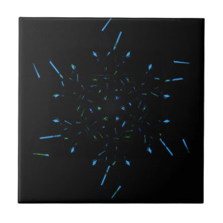 Snowflake Ceramic Tile