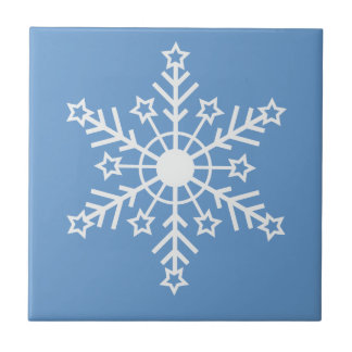 Snowflake Ceramic Tile