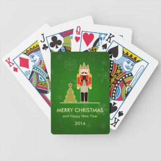 Snowflake Christmas - Nutcracker Holiday Greeting Playing Cards