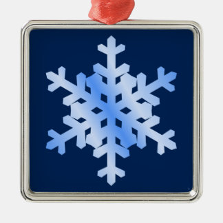 Snowflake Christmas Ornament (two sided)