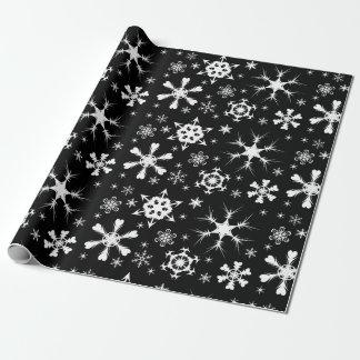 Snowflake Christmas paper