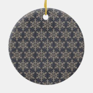 Snowflake Circle Ornament
